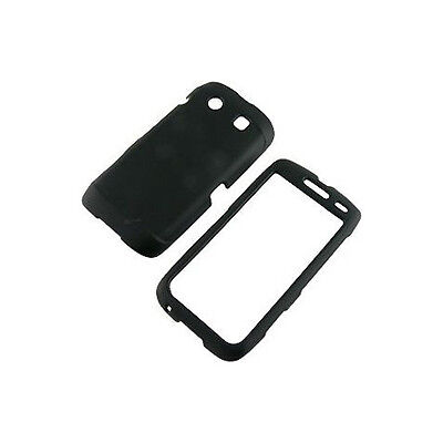 New generic Snap-on Rubber Coated Case for BlackBerry Torch 9850 9860 Black (Black Rubberized Coating Snap)