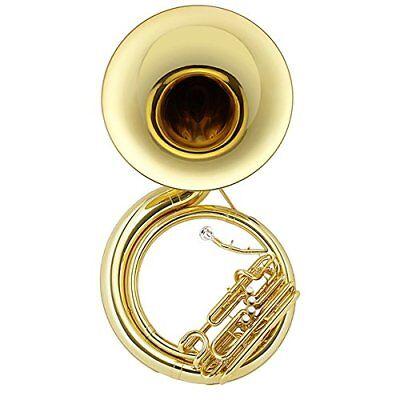 Jupiter Sousaphone Quad 4 Valve Brass BBb Model 590L