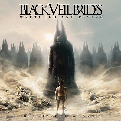 Black Veil Brides  Wretched And   Divine The Story Of The Wild Ones 2013 Cd New