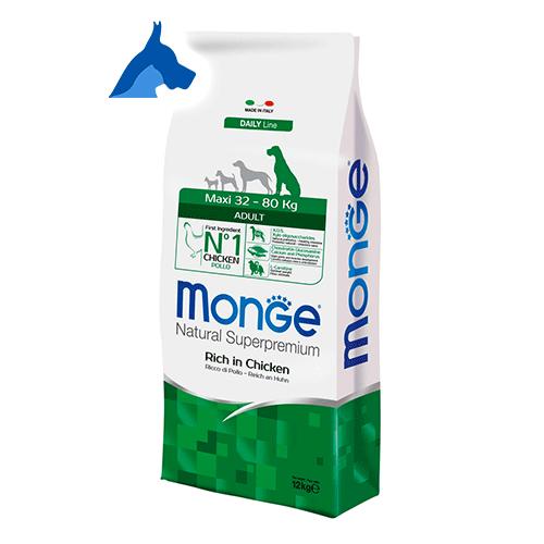 Monge Maxi Adult Superpremium Adult Cibo per cani 12 kg 24 kg Pollo