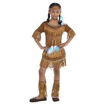 Indian Dream Catcher Cutie Native American Girls Kids Costume