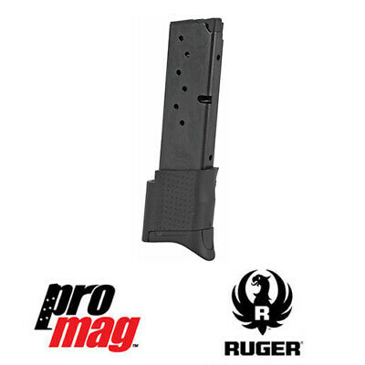 ProMag 10 Rd 9mm Blue Steel Clip Magazine RUG17  for Ruger EC9 EC9S LC9 LC9S