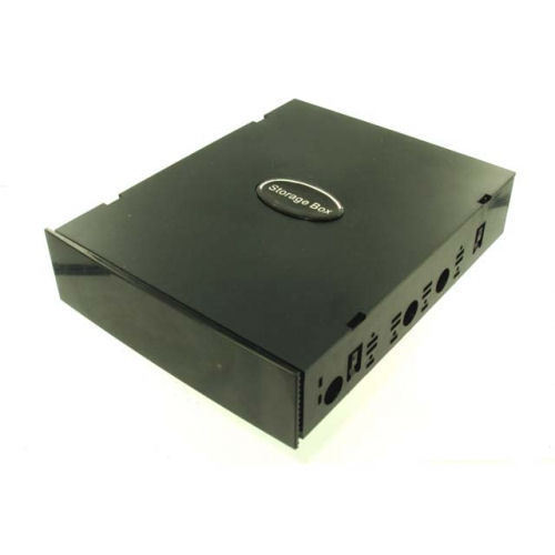 EVERCOOL 5.25 Bay Storage Box (Black) Case Panel