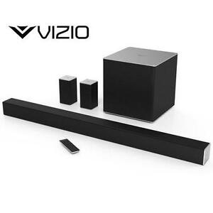 "NEW VIZIO 5.1 CH SOUNDBAR SYSTEM - 124382194 - 44"" 5.1 CHANNEL SMARTCAST SPEAKER"
