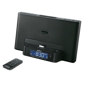 Sony Speaker Dock/Clock Radio for iPod/iPhone - Silver