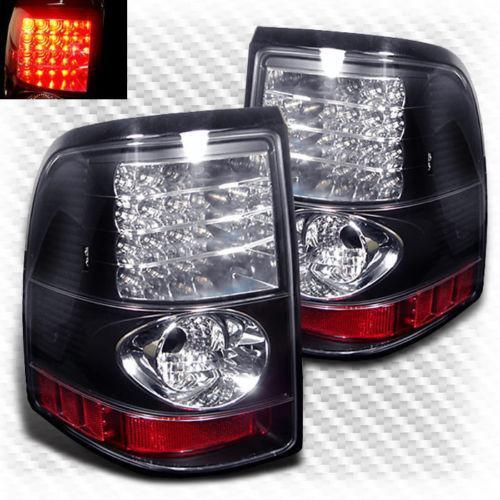 ford explorer led tail lights ebay. Black Bedroom Furniture Sets. Home Design Ideas