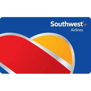 Get a $100 Southwest Airlines Gift Card for only $92 - Email delivery