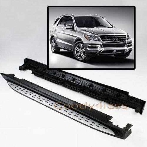 Ml350 running boards ebay for Mercedes benz ml350 running boards