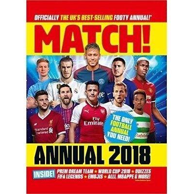 Match Annual 2018 (Brand New) Hard Back