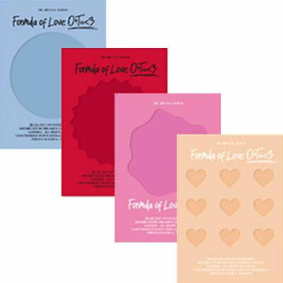 TWICE FORMULA OF LOVE: O+T=<3 3rd Album 4 Ver SET 4CD+4 Photo Book+4 Pre-Order
