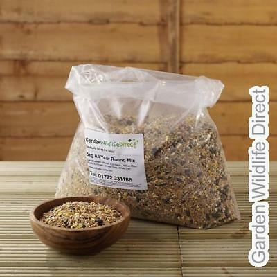25kg Garden Wildlife All Year Round Bird Seed Feed Mix for Wild Garden Birds (2