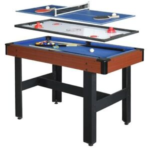 NEW Hathaway Triad 48″ 3-in-1 Multi-Game Table
