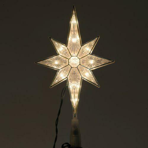 Lighted bethlehem star ebay for 18 lighted christmas tree with stars window silhouette decoration