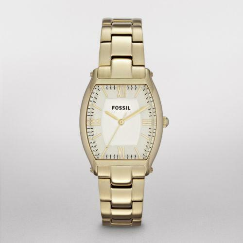 womens fossil gold tone ebay