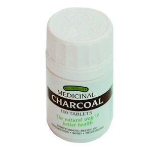 Bragg's Medicinal Charcoal (100 Tablets)