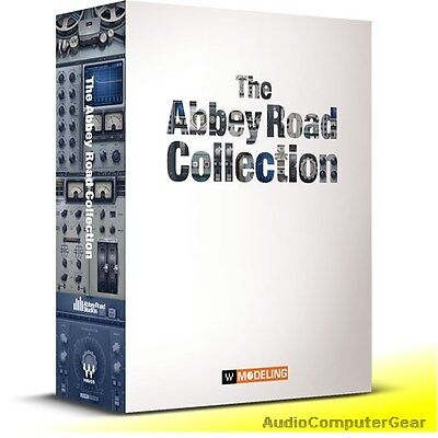 Waves ABBEY ROAD COLLECTION Audio Software Effects Plug-in Bundle NEW Waves Plug Ins
