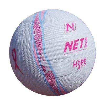 ten80° Pink Ribbon Hope Netball Basketball für innen und außen Pink/Baby