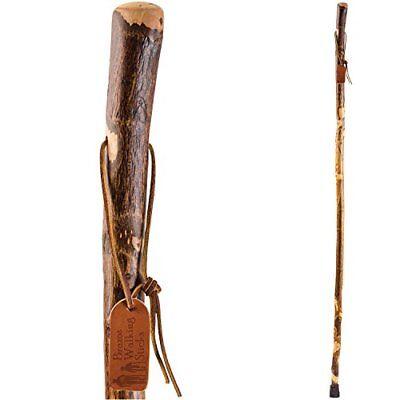 Hiking Walking Trekking Stick - Handcrafted Wooden Walking & Hiking Stick - Made