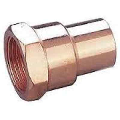 Plumbing Female Npt Threaded X Copper Adapter 3
