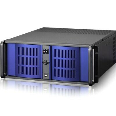Istarusa D-400 Rackmount Ecnlosure - Rack-mountable - Blue - 4u - 7 X Bay - 2 X
