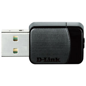 *New* D-Link DWA-171 Wireless AC Dual Band USB Adapter.