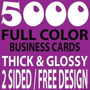 5000 Business Cards