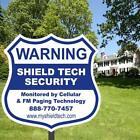Yard Security Sign Stake
