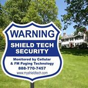 Yard Security Sign Stake