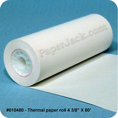 #610480, Thermal Paper Rolls, 4 3/8