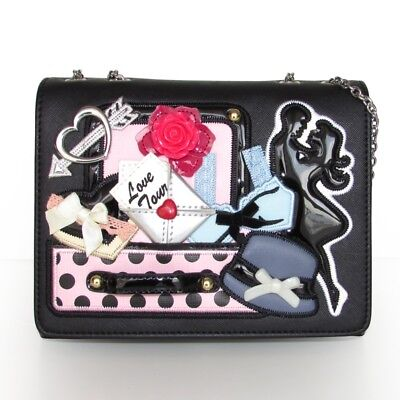 6caf6938a421 Купить Braccialini TUA Cartoline Crossbody BAG LOVE TRIP B10771 на ...