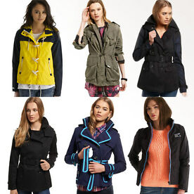 New Womens Superdry Jacket SD