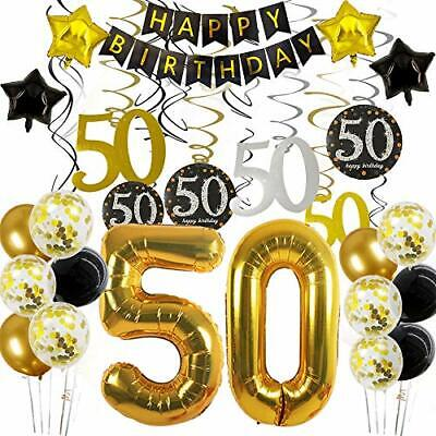50th Birthday Decorations For Men Women 50 Year Old Party Decorations