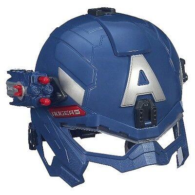 MarMarvel Captain America Super Soldier Gear Battle Helmet