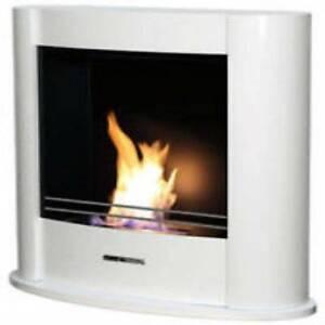 Ethanol Fireplace VioFlame Elegance 1200 White 10% SALE NOW Erina Gosford Area Preview