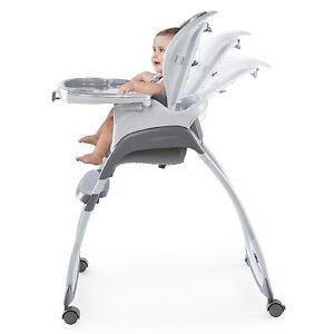 Ingenuity SmartClean Trio 3-in-1 High Chair - Slate BRAND NEW