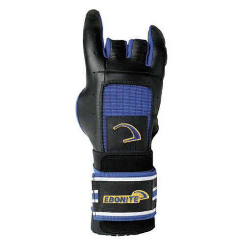Ebonite Pro Form Glove Left Hand Bowling Glove Black/yellow/blue