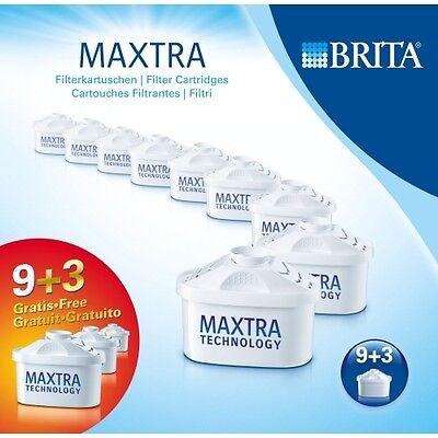 ORIGINAL BRITA MAXTRA KARTUSCHEN WASSERFILTER PACK 9+3 (12 STÜCK) NEU