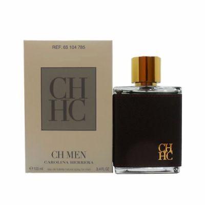 Ch Men By Carolina Herrera  3 4 Oz Edt Spray Nib Tster