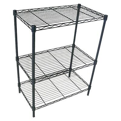Room Essentials™ Black 3-Tier Wire Shelving