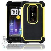 HTC EVO Case Yellow