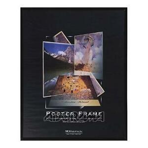 MCS-Acrylic-Corrugated-Back-Poster-Frame-for-a-12x18-Photograph-Black-22219