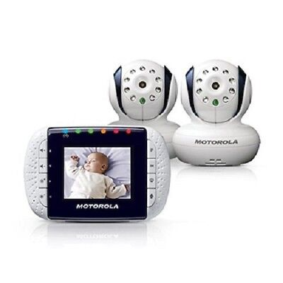 Motorola MBP33/2 Wireless Video Baby Monitor with Infrared Night Vision and Zoom
