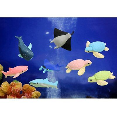 Iwako Japanese Erasers - Sea Animals (No.2) Toy For Kid Made in Japan Stationery