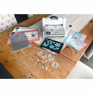 Sizzix Big Shot Plus Die Cutting Machine Starter Kit Bundle Cutter Paper Roller