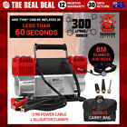 Red Portable 12V Car and Truck Air Compressors
