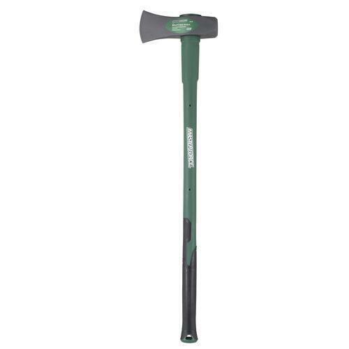 "8 lb Forged Steel Head Large Wood Splitting Maul w/ 36"" Long Fiberglass Handle"