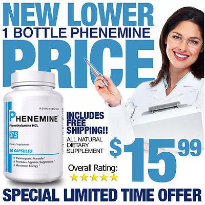 1CT Phenemine Best Diet Pills That Work Not Chinese Extreme Slimming Adipex 37.5 (Best Slimming Pills)