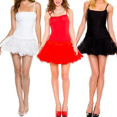 Tank Top Camisole Petticoat Dress Halloween Costume Tutu Tulle Slip - Halloween Tank Dress