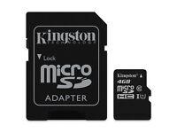 Kingston 4GB Micro SD HC Memory Card For Garmin Nuvi 2460LMT SAT NAV