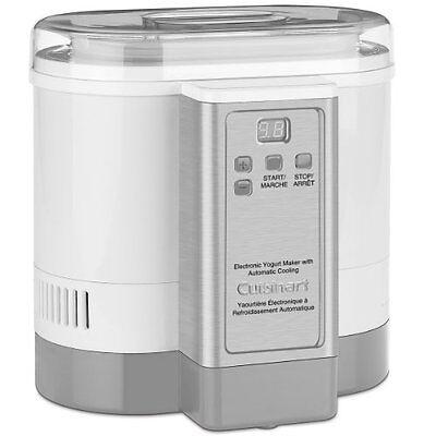 Cuisinart CYM-100 Electronic Yogurt Maker With Appl Automatic Cooling (cym100)